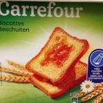 Biscottes Carrefour